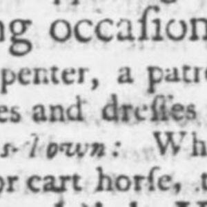 Unnamed Carpenter #27 - CAR116 - SC Gazette 12-11-1749 p2.JPG