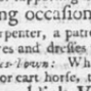 Unnamed Sawyer #8 - SAW35 - SC Gazette - December 11 1749.png