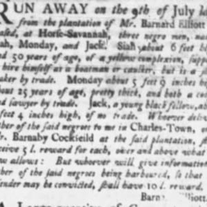 Siah - SHOE7, CAU1 - SC Gazette - September 8 1758.png