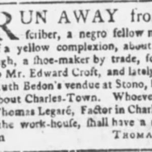 Lymus - SHOE13 - SC Gazette - May 4 1765.png