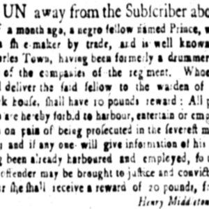 Prince - SHOE6 - SC Gazette - June 23 1757.png