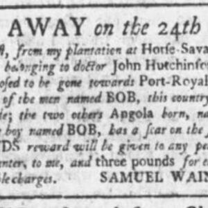 Bob - CAR22 - SC Gazette 3-1-1760 p2.JPG