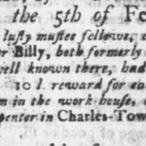 Billy - CAR14 - SC Gazette 2-26-1750 p2.JPG