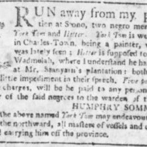 York Tom - PAI2 - SC Gazette - November 20, 1762 p2.png