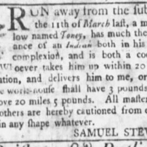 Toney - COO24 - SC Gazette 4-7-1759 p4.JPG