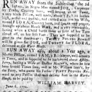 Sam- BRIL13 - SC Gazette 6-6-1774 p3.jpg