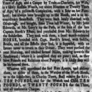 Charlotte - SEA2 - SC Gazette - July 5 1771.png